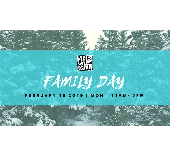 Graphic for family day event